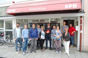 Vorstand des SPD Ortsvereins Neuhausen