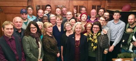 Die Kandidat*innen der SPD in Neuhausen-Nymphenburg für die Wahl des Bezirksausschusses 2020 nach der Aufstellung der Liste