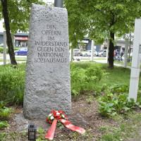 Bild: Gedenken an die Opfern des Nationalsozialismus