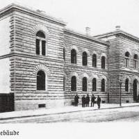 Kriegsgericht in der Artilleriestraße