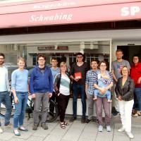Bild Vorstand SPD Neuhausen