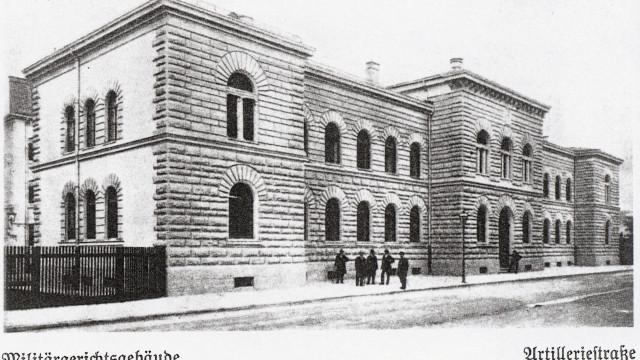 Kriegsgericht in der Artilleriestraße, Geschichtswerkstatt Neuhausen e.V.
